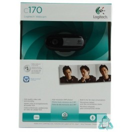 webcam logitech c170 neuf tr s bon prix. Black Bedroom Furniture Sets. Home Design Ideas